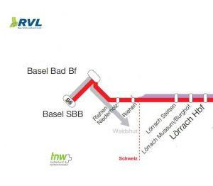 Fahrplan-Basel-Lörrach